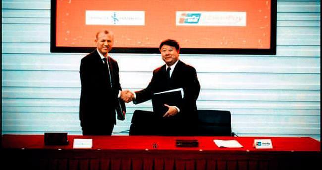 Çinli kredi kartı ağı ile ikinci işbirliği