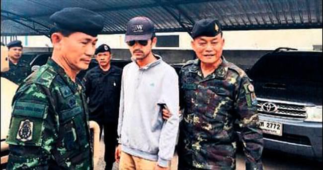 Tayland'da baş şüpheli yakalandı