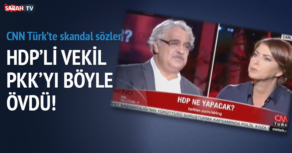 Skandal sözler! HDP'li vekil PKK'yı övdü
