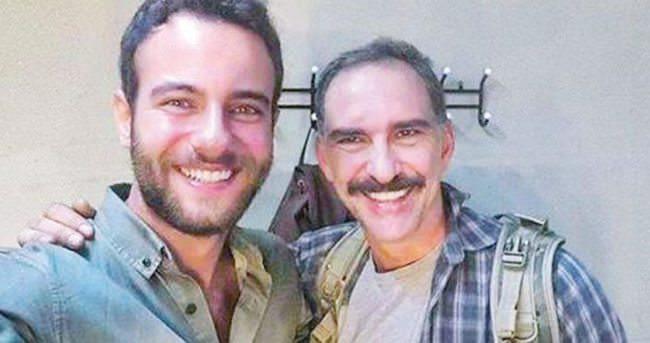 Cenk Ertan ile Batuhan Aydar yıllar sonra bir araya geldi
