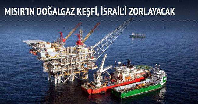 Mısır'ın doğalgaz keşfi, İsrail'i zorlayacak
