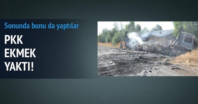 PKK askerlerin ekmeğini yaktı
