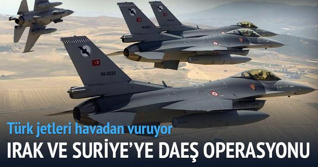 DAEŞ'e hava bombardımanı