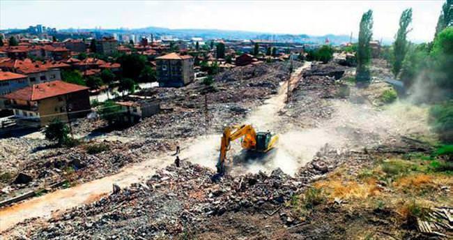 Önder ve Ulubey'de yıkımlar sürüyor