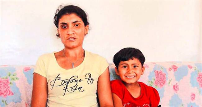 Dayak mağduru kadın iki çocuğuyla perişan