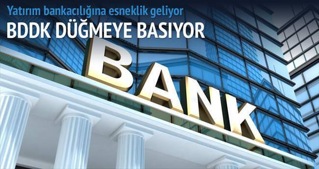Yatırım bankacılığında sermaye şartı gevşiyor