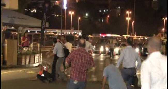 Araba vapuru yolcuları ile özel güvenlikçiler arasında kavga çıktı