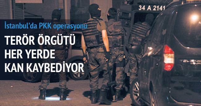 PKK'nın güvenli evlerine baskın