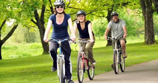 Düzenli bisiklet kullanımı ömrü uzatıyor