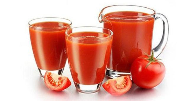 Böbrek taşının düşmanı domates suyu