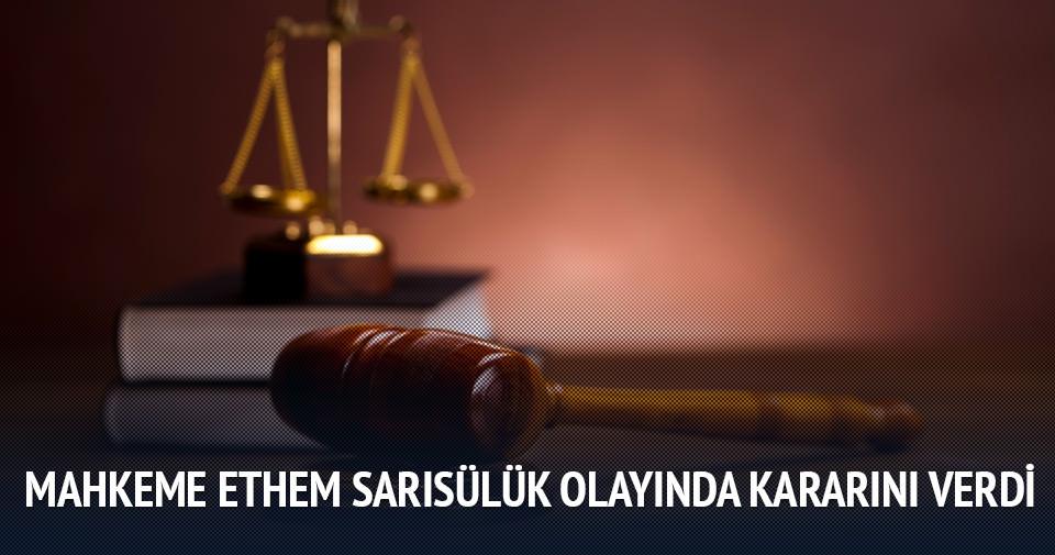 Ahmet Şahbaz hakkında tahliye kararı