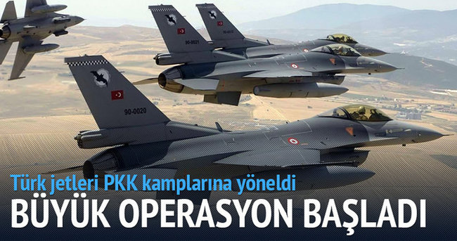 Türkiye sınırında hava hareketliliği başladı