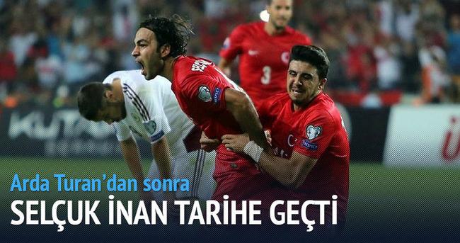 Türkiye'nin 700. golü Selçuk İnan'dan