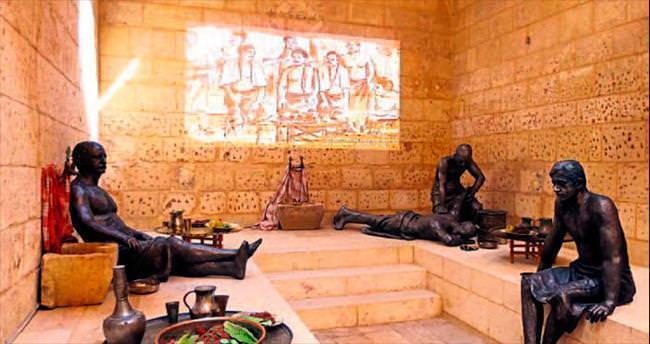 'Antebin Hamamları' müzede sergilenecek