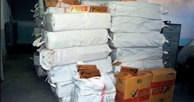 Şereflikoçhisar'da kaçak sigara avı