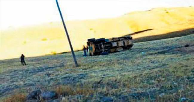 Hain saldırı: 6 asker yaralı