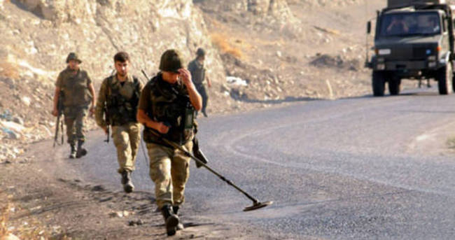 Van'da askerlere mayınlı tuzak