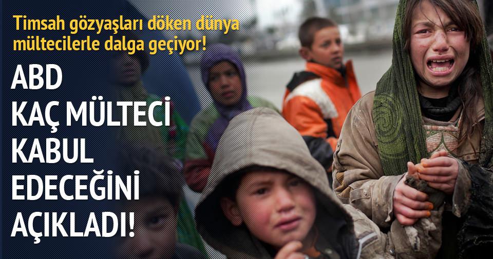 ABD: 300 Suriyeliyi daha kabul edeceğiz