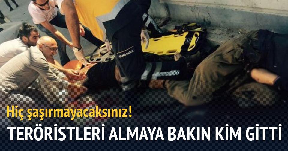 PKK'lıların cesetlerini HDP'li milletvekili aldı