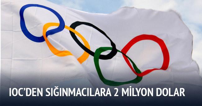 IOC'den sığınmacılara 2 milyon dolar yardım