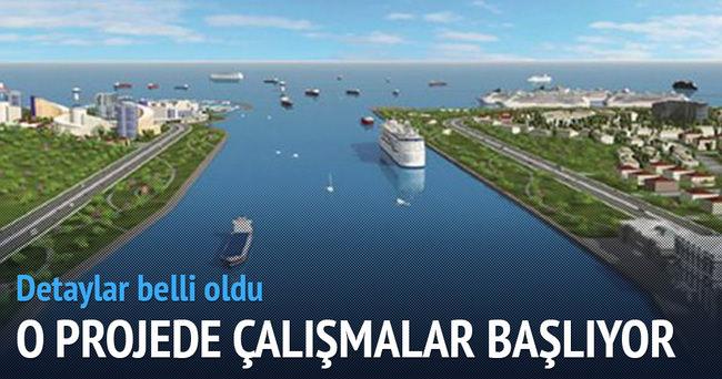 Kanal İstanbul'da çalışmalar başlıyor
