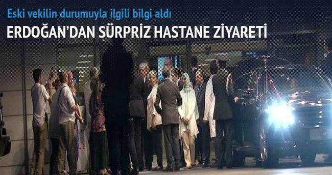 Erdoğan'dan hastane ziyareti