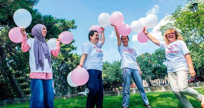 Kanseri yenen savaşçı kadınlar