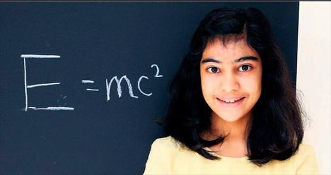 12 yaşında Einstein'ı geçti