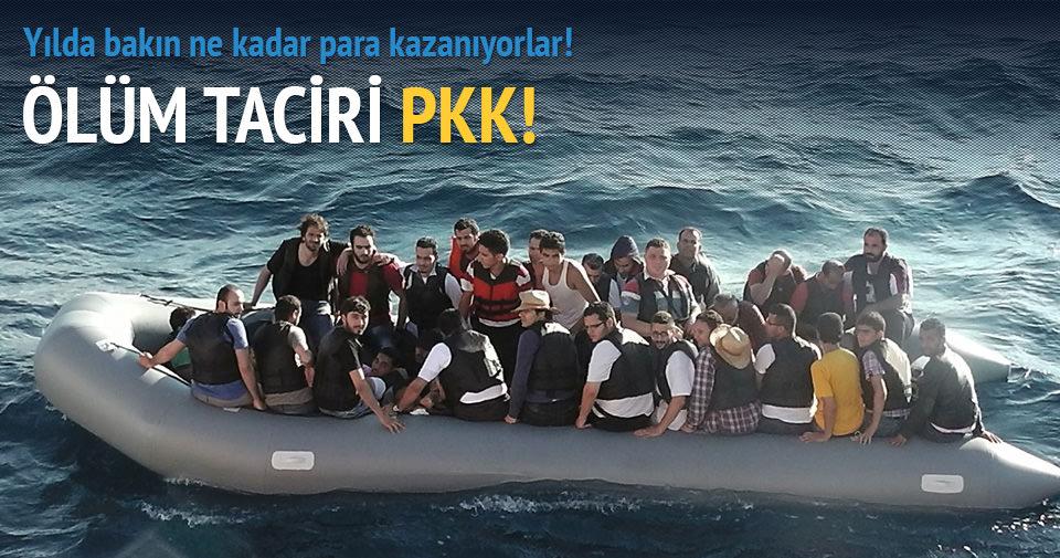 PKK, göçmenlerin yılda 300 milyon $'ını çalıyor!