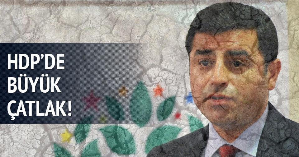 HDP'de büyük çatlak!