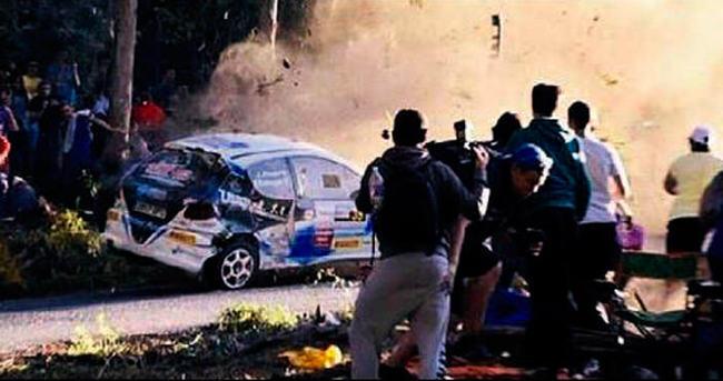 Ralli yarışında feci kaza: 6 ölü