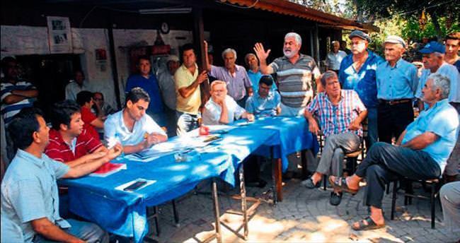 Kayaköy'de referandum