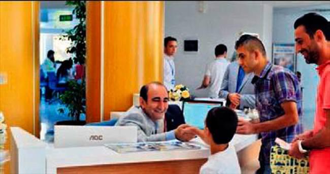 Başkan Edebali'den karşılama sürprizi