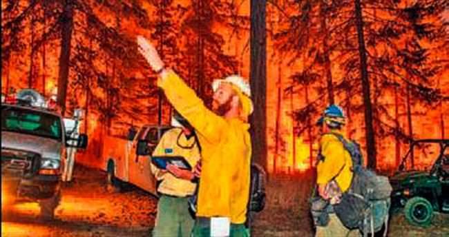 Orman yangınlarının faturası: 1.2 milyar $