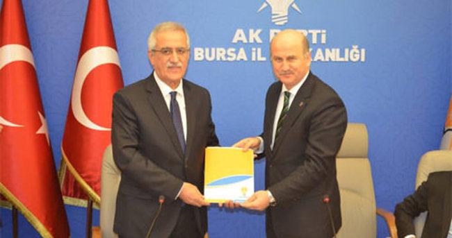 Aydın, Bursa'da aday adayı oldu