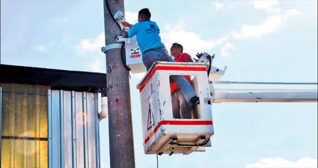 Çubuk Sanayi Sitesi'ne 18 güvenlik kamerası