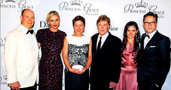 Prenses Grace ödülleri Robert Redford ve eşine