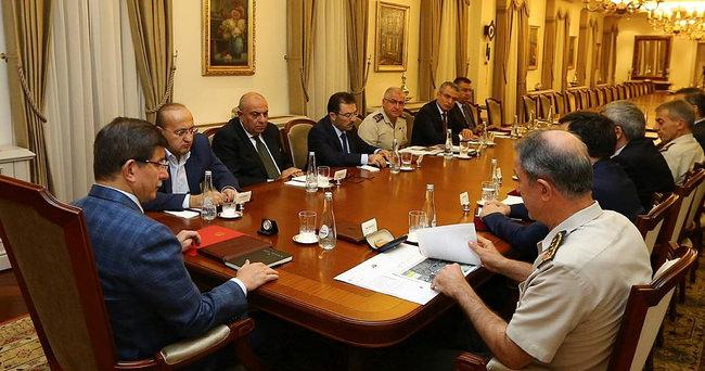 Başbakanlık'ta kritik toplantı sona erdi