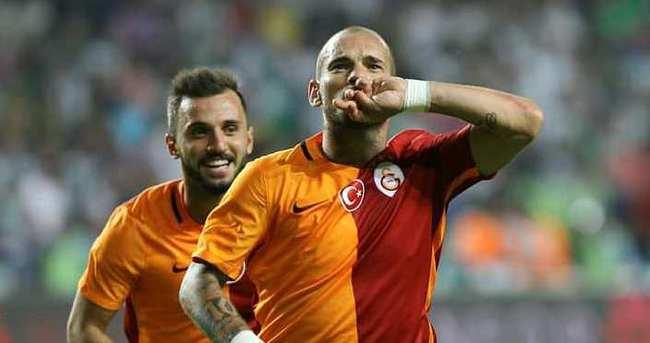 Sneijder'den şok karar!