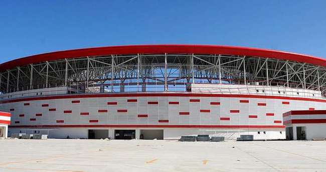 Antalyaspor'un yeni stadı tamamlanma aşamasında
