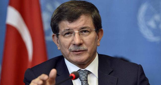 Davutoğlu programlarını iptal etti