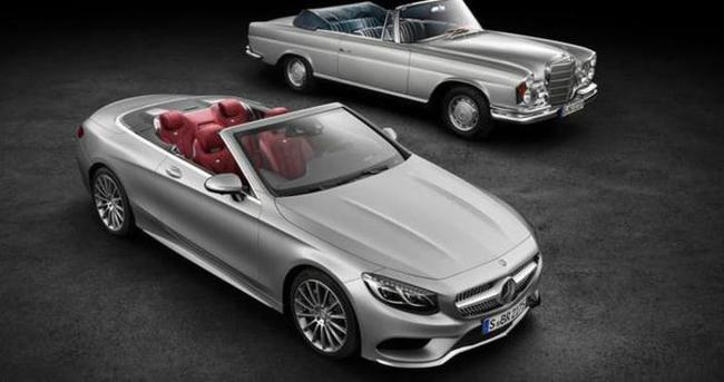 Mercedes S Serisi 45 yıl sonra üstünü açtı