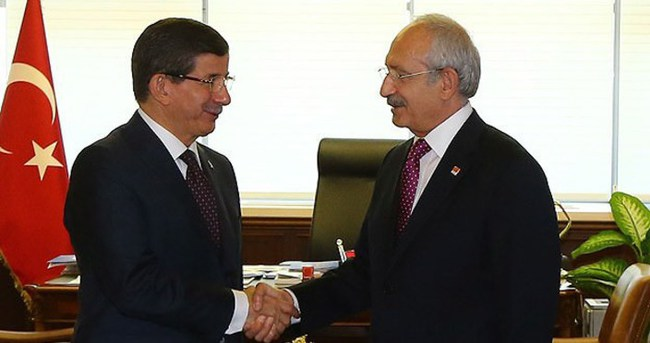 Başbakan Davutoğlu ile Kılıçdaroğlu 18:30 da görüşecek