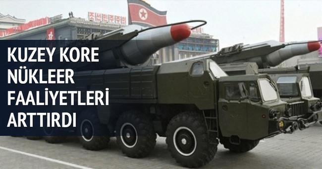 Kuzey Kore nükleer faaliyetlerini arttırdı