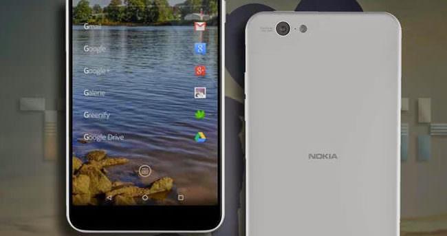 İşte Nokia'nın Android'li telefonu!