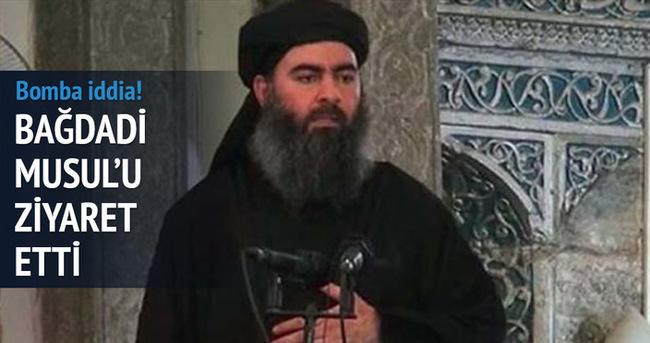 Bağdadi Musul'da iddiası