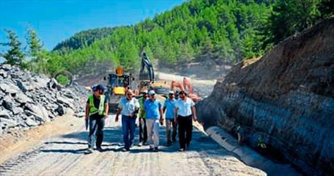 Naras Barajı yüzde 80 tamamlandı