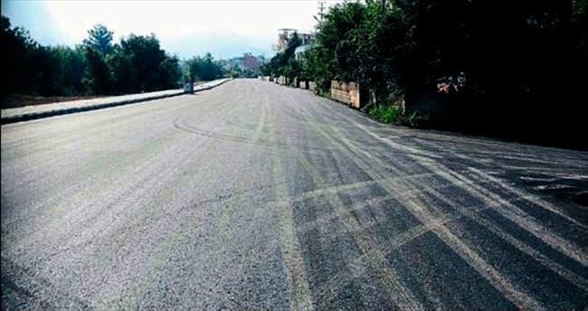 İskenderun'da en uzun sokak asfaltlandı