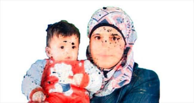 Filistinli anne çocuğuna kavuştu