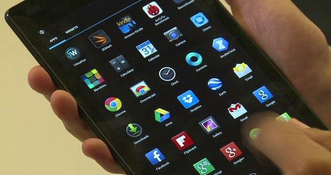 Amazon'dan 150 liraya Android tablet